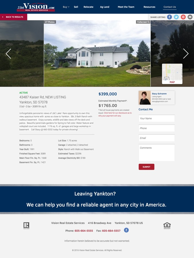 Vision Real Estate | Web Concentrate